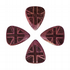 Flag Tones Union Jack Purple Heart 4 Guitar Picks